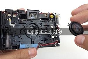 تعمیر لنز دوربین ریکو