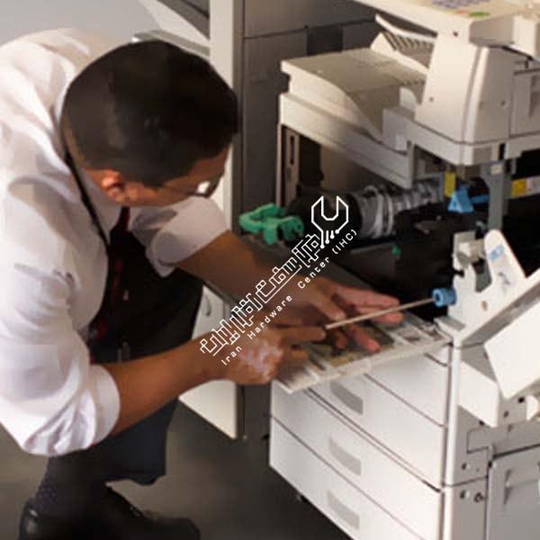 تمیز کردن واحد لیزر فتوکپی ریکو