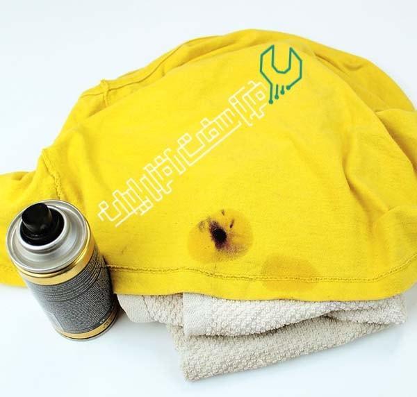 تمیز کردن لکه های جوهر پرینتر از لباس