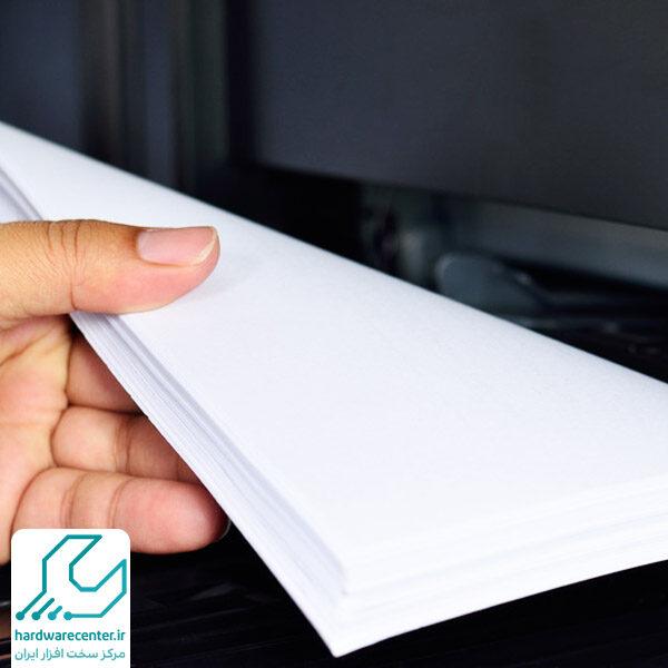 تنظیم اندازه کاغذ در پرینتر